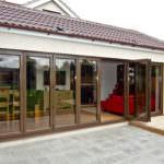 aluminium bi-folding doors great dunmow
