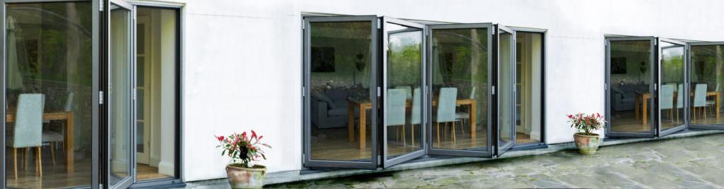 aluminium bi-fold doors chelmsford
