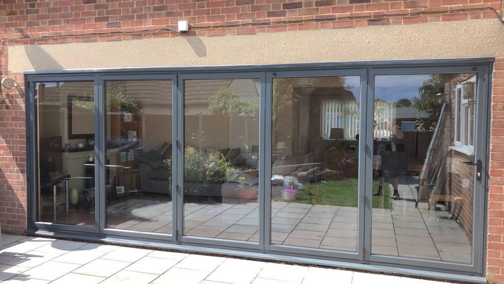 aluminium bifold doors chelmsford