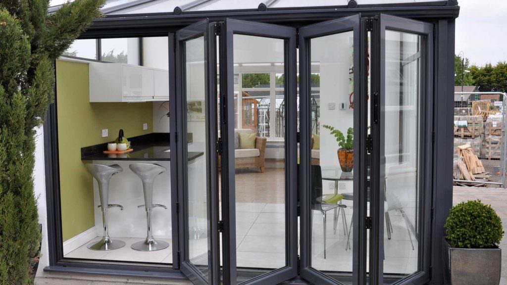 aluminium bi-fold doors cambridge price